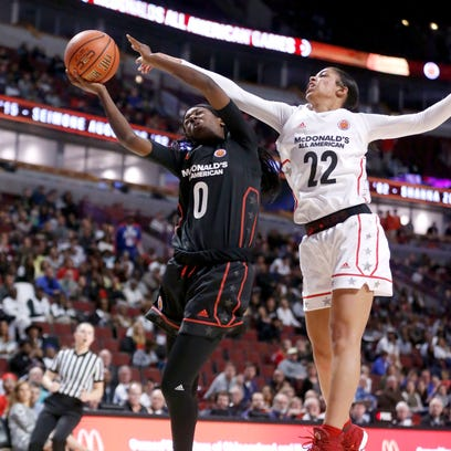 Lady Vols signees have their moments in McDonald's All-American game