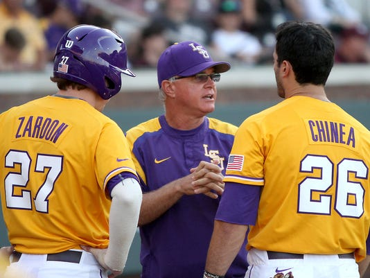Paul Mainieri, Danny Zardon, Chris Chinea