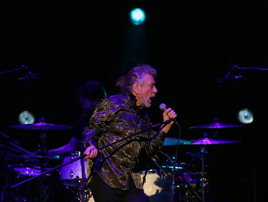 Robert Plant and The Sensational Space Shifters perform