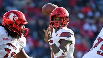 Louisville QB Lamar Jackson passed for 3,000 yards and ran for 1,500 each of the past two seasons.