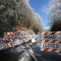 Entire Blue Ridge Parkway closed in WNC for dangerous ice-covered roads