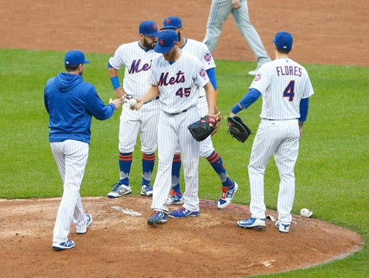MLB: Toronto Blue Jays at New York Mets