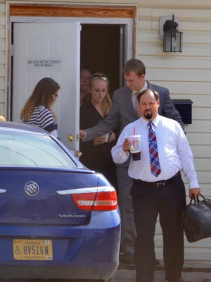 Robert Jaynes Jr., seen coming out of Irvington Bible Baptist Church in October 2016, pleaded guilty to federal charges of producing almost 100 tons of synthetic marijuana and conspiracy to commit fraud. In April, he was sentenced to 11 1/2 years in federal prison.
