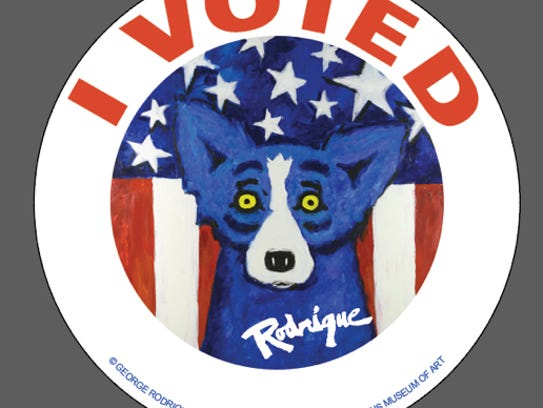 Submitted  Artwork for the new Louisiana 'I Voted'