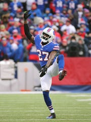 Bills rookie cornerback Tre'Davious White dances for