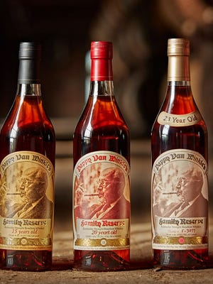 Pappy Van Winkle, a highly-sought Kentucky bourbon from Old Rip Van Winkle Distillery.
