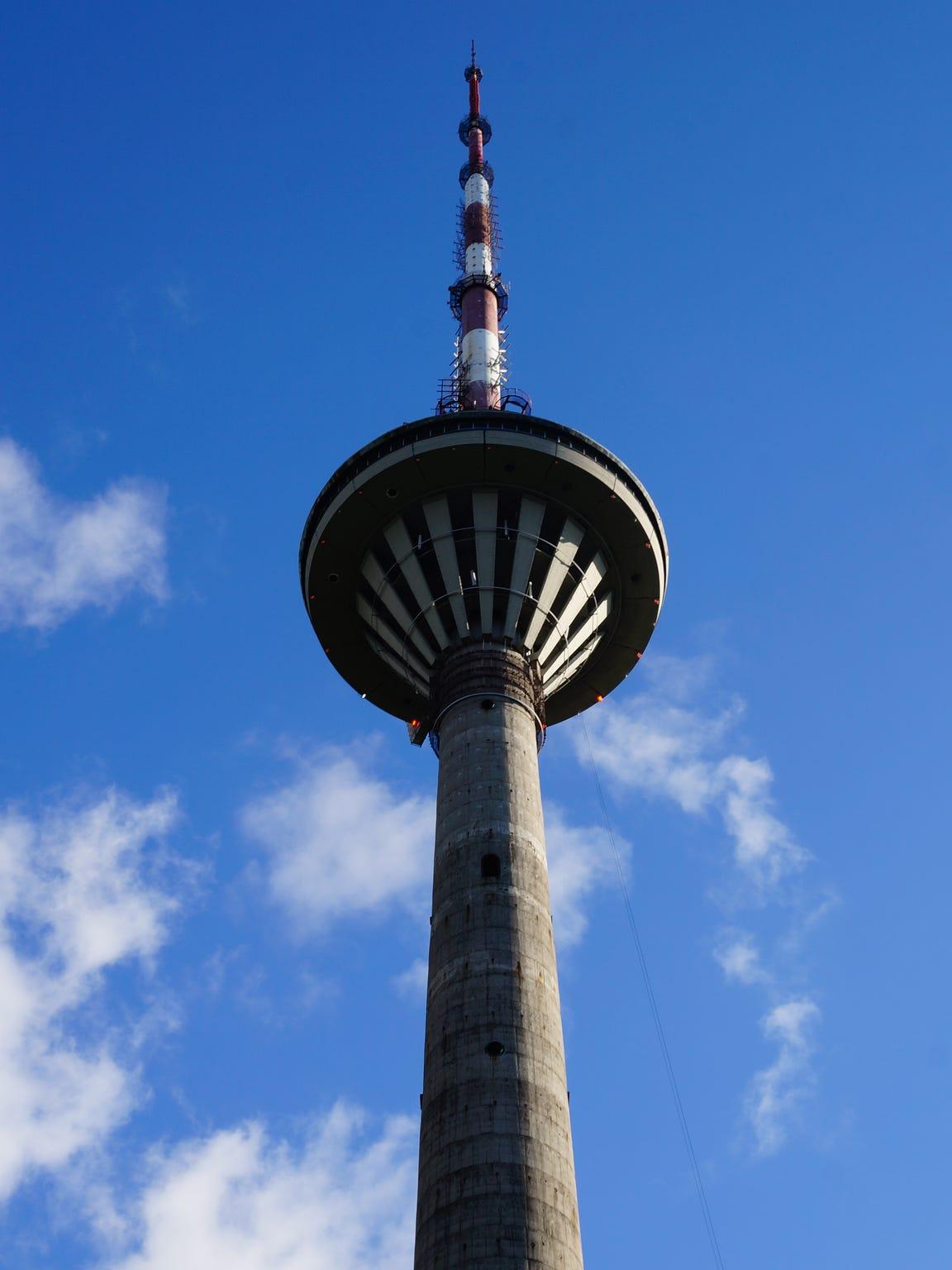 Tallinna Teletorn, or Tallinn TV Tower, is Estonia's