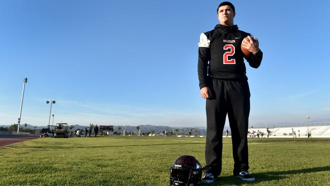 Rio Mesa High quarterback Austin Maciel led the county with 3,830 passing yards and 47 touchdown passes.