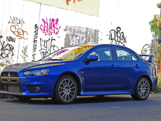 review last chance to catch mitsubishi lancer evo