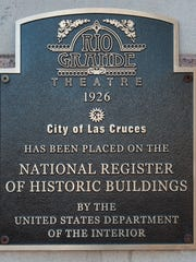 The Rio Grande Theatre, built in 1926, has been recognized as a National Historic Building.