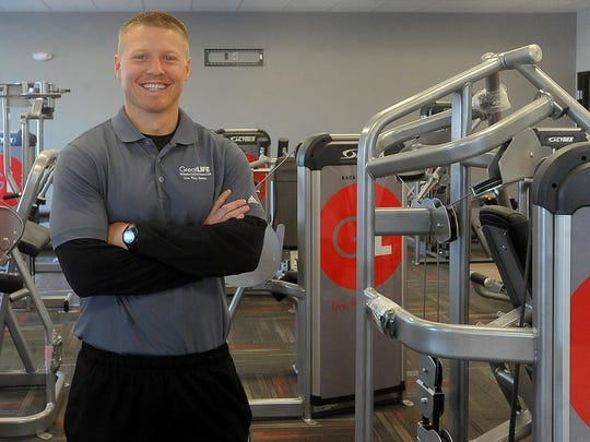 Nick Ovenden, pictured here in 2015, has been named president of GreatLife Malaska Golf & Fitness.