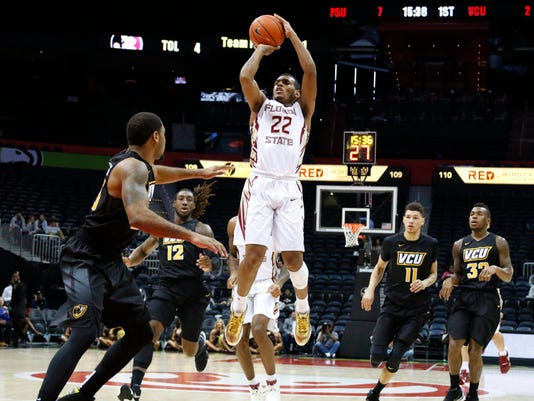 NCAA Basketball: VCU at Florida State