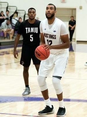 Western's Latrell Spivey tallied 15 points against Texas A&M International. He helped the Mustangs get their biggest win - point-wise - since 2013.