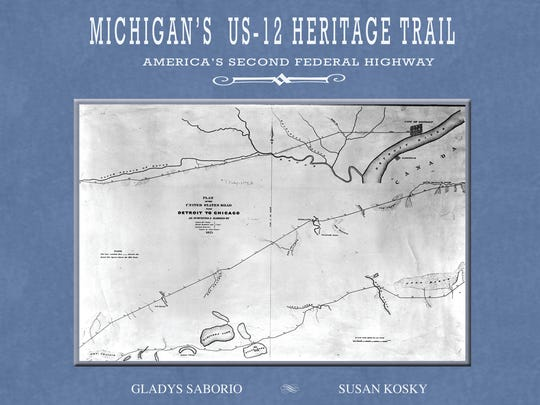 Michigan's US-12 Heritage Trail, new from Arbutus Press.