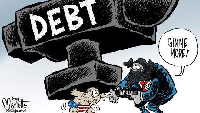 Tax plan commentary from Andy Marlette