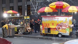 The Halal Guys, popular on New York street corners, are known for lengthy lines that never disappear.
