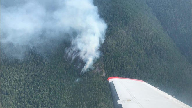 The Beachie Creek Fire is burning in the Opal Creek Wilderness area and has closed most recreation areas nearby.