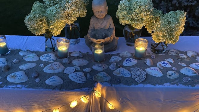 The town of Cohasset held its annual candlelight vigil in recognition of International Overdose Awareness Day on Aug. 31.