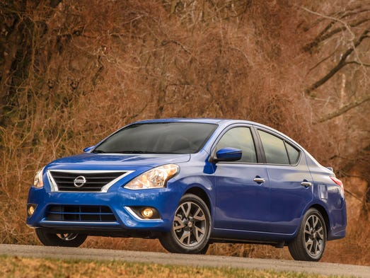 Consumer Reports has named the Nissan Versa, shown