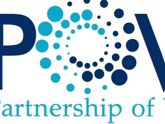 Partnership of Women logo.