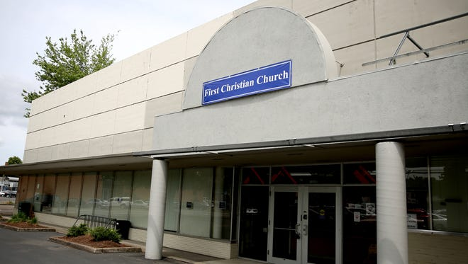 The proposed new location of Howard Street Charter School at the current extension building for First Christian Church in downtown Salem on Tuesday, May 29, 2018.