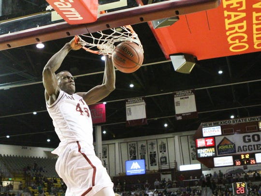 Former New Mexico State basketball player Pascal Siakam will play in the NBA Finals with the Toronto Raptors.