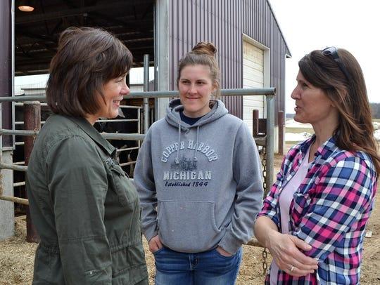Wisconsin Secretary of Agriculture Sheila Harsdorf,