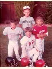 The Sellers brothers, Luke, Jake, Joe Mac and Bo.