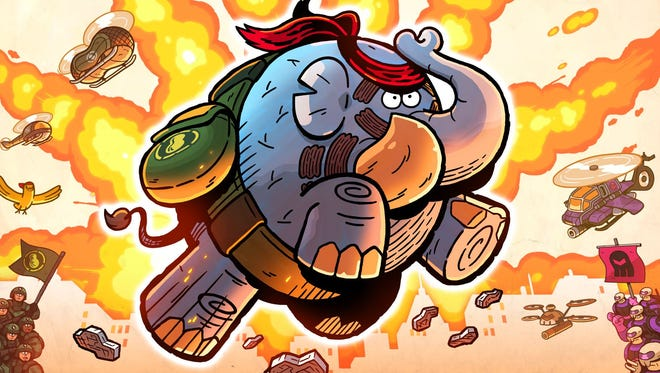 Tembo the Badass elephant features classic side-scrolling action reminiscent of theSega Genesis and Super NES days.