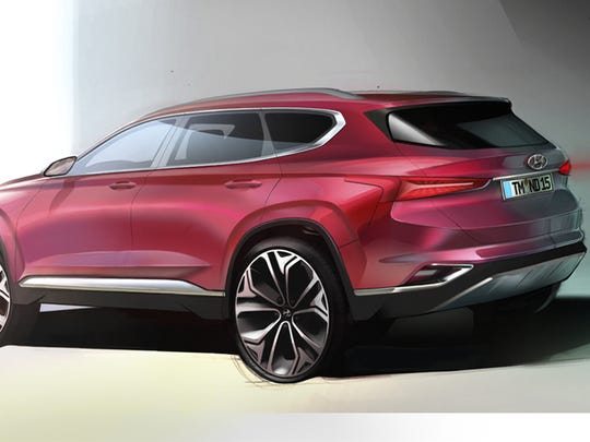 Hyundai's next Santa Fe looks exciting in this rendering