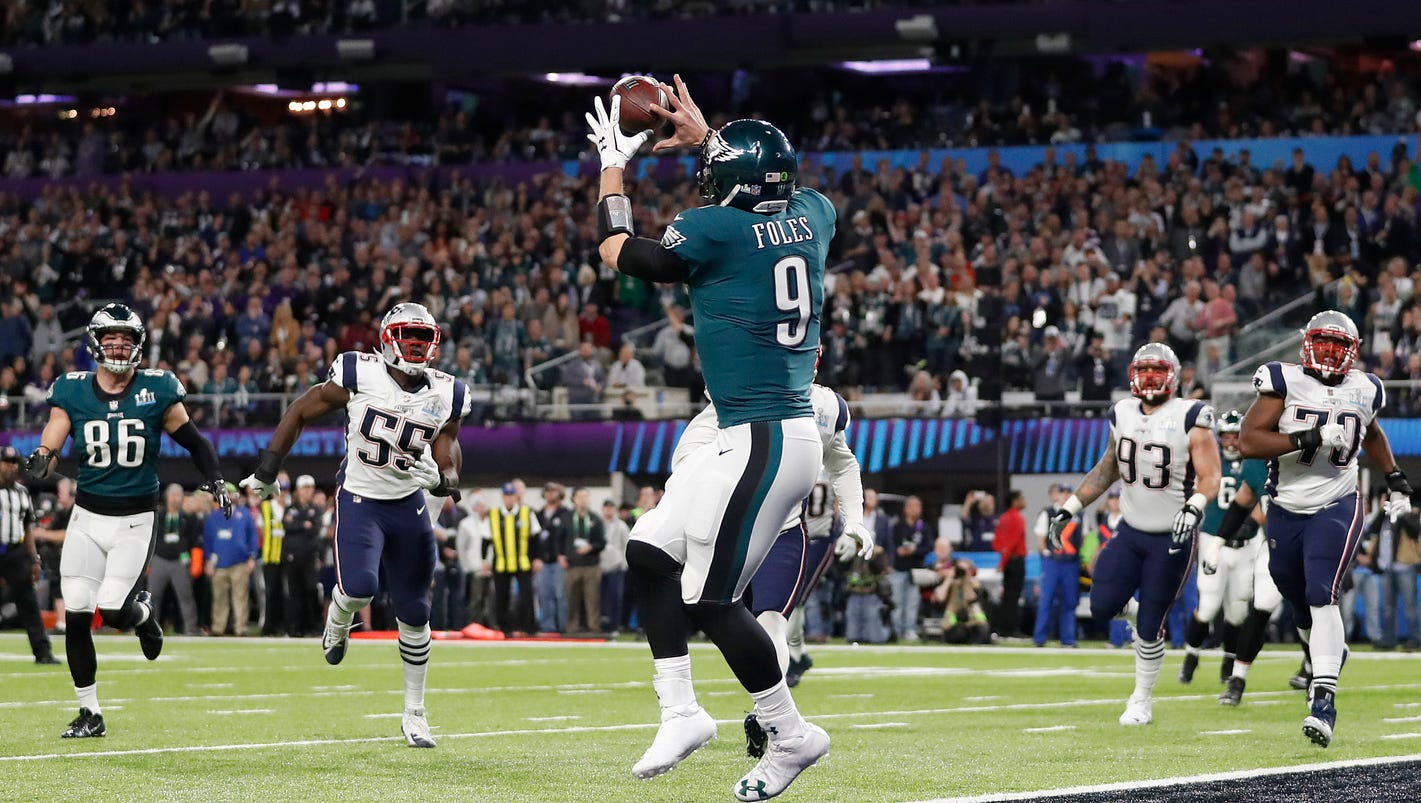 Eagles take page out of Cooter's playbook with trick play