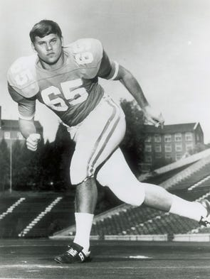 University of Tennessee football player Phillip Fulmer