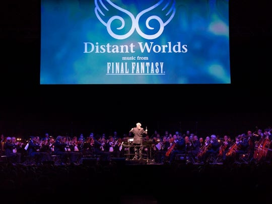 """Conducted by Grammy winner Arnie Roth, """"Distant Worlds"""""""