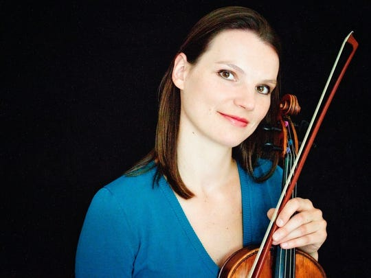 Violist Katrin Meidell will perform during her recital