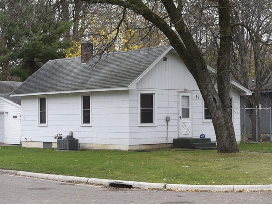 The house at 55 Myrtle Avenue in Annandale was searched.