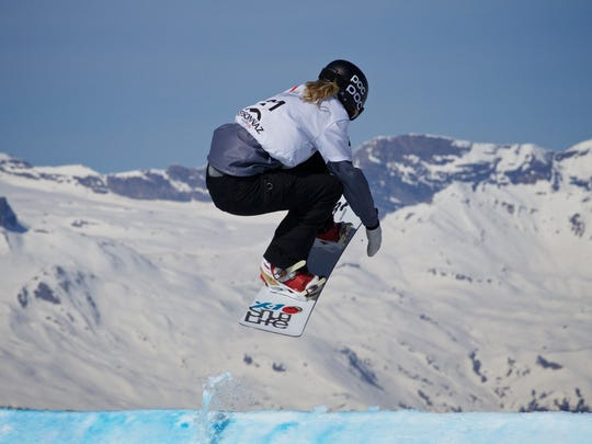 Meghan Tierney, who grew up in Little Silver and Rumson, will competge at the Winter Olympics in South Korea next month.