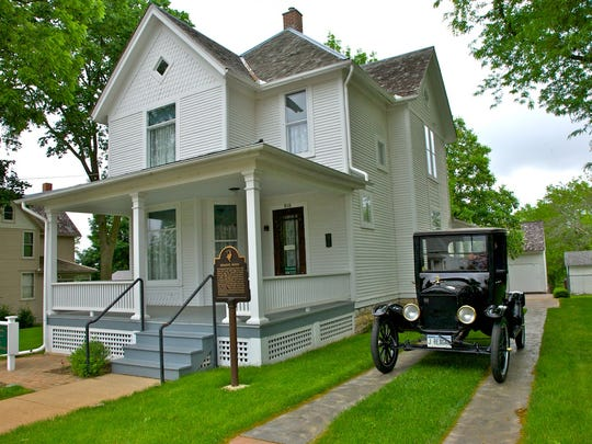 The Queen Anne-style boyhood home of Ronald Reagan is now a National Historic Site. The Dixon, Ill., house was built in 1891. The family lived there from 1920 until 1923.