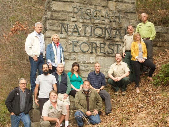 Members of the newly formed Pisgah Conservancy advisory council represent the Forest Service and user groups such as trail runners, mountain bikers, hikers, horseman, hunters and anglers.