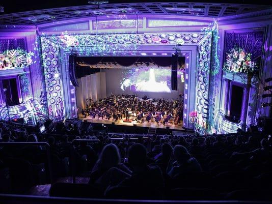 August 4, 2016: Lumenocity, Cincinnati Symphony, Taft Theatre, Lightborne