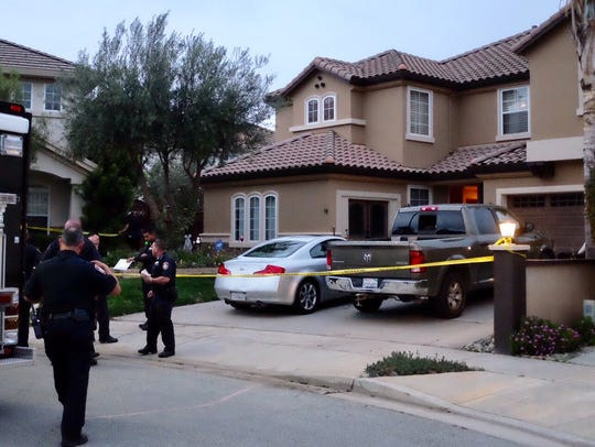 Salinas police responded to a home on Essex Way on