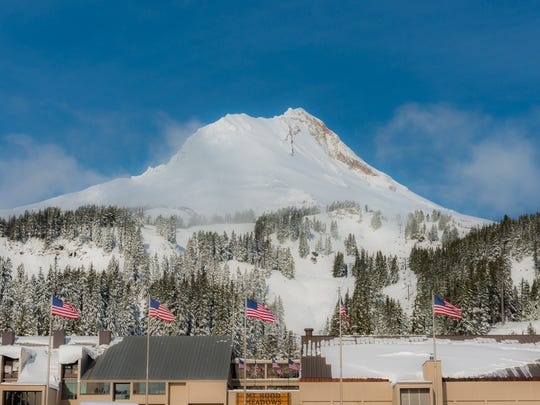 Oregon's ski areas are opening earlier than expected thanks to a series of storms. Pictured here is Mount Hood Meadows on Nov. 19, 2016.