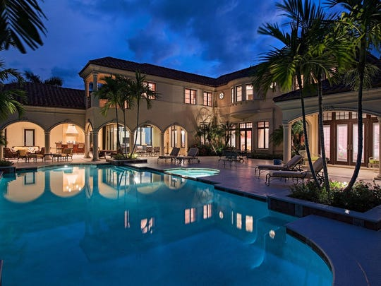 3292 Green Dolphin Lane sold for  $12,750,000 in 2016, making it one of the  year's top 10 Naples home sales.