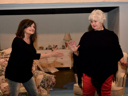 """Shasta Shaw, left, and Nona Bailey star in """"Ripcord"""""""