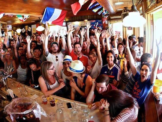 Bar Tabac on Bastille Day