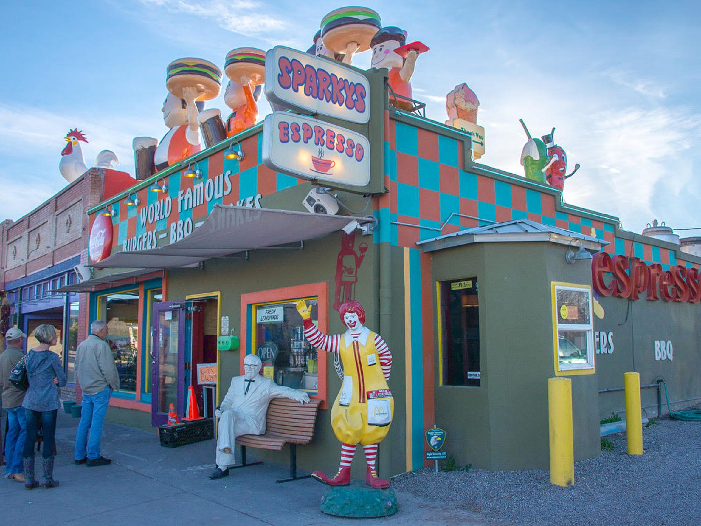 Sparky's Burgers, BBQ and Espresso, located in Hatch, New Mexico, will celebrate its 9th anniversary with a free concert on Thursday, Aug. 24.