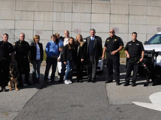 The Stillwells, a family from Patterson, made a big donation to the Putnam County Sheriff's K-9 Unit.