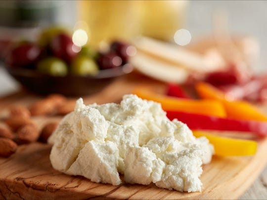 Pictured is LaClare Family Creamery's Chevre Savory with Beer.
