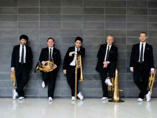 """In addition to world-class Christmas music, the Canadian Brass will perform their special version of the opera, """"Carmen,"""" with the Wichita Falls Symphony Orchestra 7:30 p.m. Saturday, Dec. 16, at the Memorial Auditorium."""