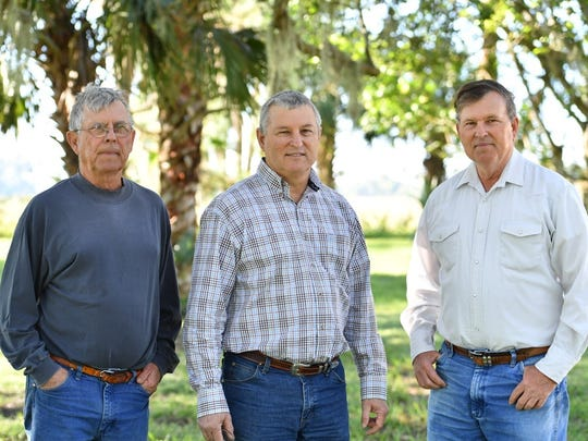 Lee (left) Robbie and Mike Adams will talk about the history of Adams Ranch at the Treasure Coast History Festival in downtown Fort Pierce on Jan. 13.