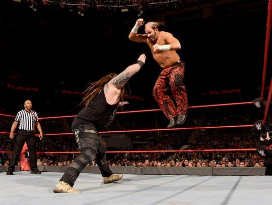 Woken Matt Hardy will wrestle Bray Wyatt when WWE Live